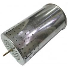 Стакан для дымаря d-95 мм h-155 мм нерж.сталь