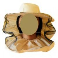 Сетка лицевая, полуоткрытая, ткань бязь (СУРОВАЯ)