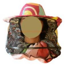 Сетка лицевая, полуоткрытая, ткань полиэстер