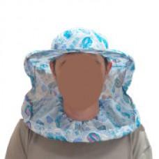 СЕТКА лицевая, полуоткрытая, ткань ситец