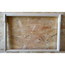 Рамка липовая в сборе 435х300 мм с нержавеющей проволокой