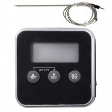 Цифровой термометр с щупом для духовки