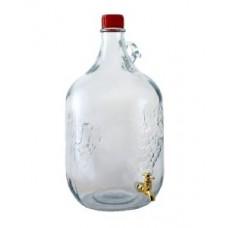 "Бутылка стекелянная ""Сулия"" 5л с краником"