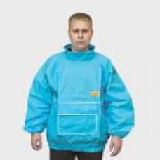 Куртка бязь голубая р-р 56-58