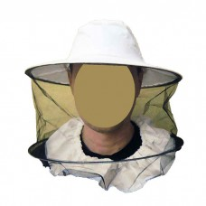 Сетка лицевая, полуоткрытая ткань плотная х/б, цвет белый (942)