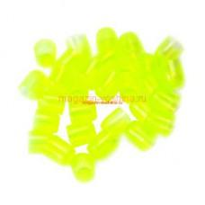 Мисочки пластиковые для вывода пчелиных маток и сбора маточного молочка, зеленые (100 шт.) (161)