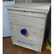 Улей Дадан 12 рамок + 1 магазин дерево (Пчелоторг-12Д)