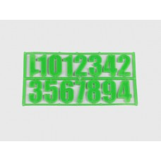 Комплект пластмассовых цифр (15шт) (252)