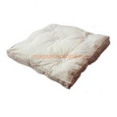 Подушка утеплительная 54х54, бязь небеленая, синтепон (для 12-ти рамочного улья)