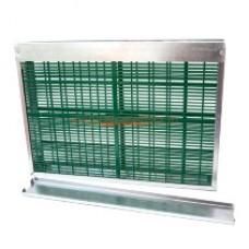 Изолятор на 1-рамку Дадан решетка пластиковая Ганемановская (060)
