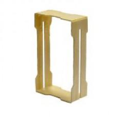 Рамка деревянная для секционного мёда 67×115×37мм
