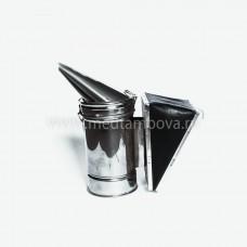 Дымарь нержавейка мех кожзаменитель D=86 мм