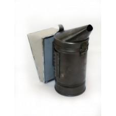 Дымарь стальной стандартный мех кожзаменитель D=86 мм