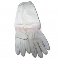 Перчатки защитные Superskin из натуральной кожи с нарукавниками