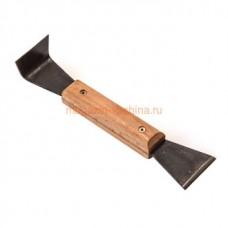 Стамеска 4 210х45х25 мм деревянная ручка, металл (470)