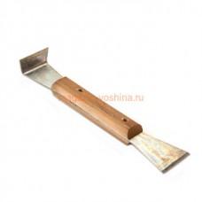 Стамеска 5 210х45х25 мм деревянная ручка, оцинкованная (476)