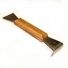 Стамеска 6 200х45х20 мм деревянная ручка, нержавеющая сталь (473)