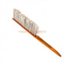 Щетка 1-но рядная нат волос ручка дерев