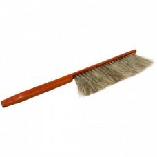 Щетка 2-х рядная нат волос ручка дерев