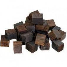 Дубовые кубики сильной обжиг Кавказ 100гр
