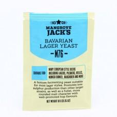 Пивные дрожжи Mangrove Jack's Bavarian Lager M76 10г