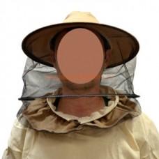 Сетка лицевая Сетка ВОКРУГ ткань плотная цвет КАКАО (944)